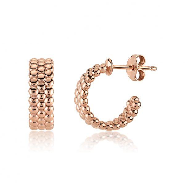 Halka Rose Earring - High Street Jewelry