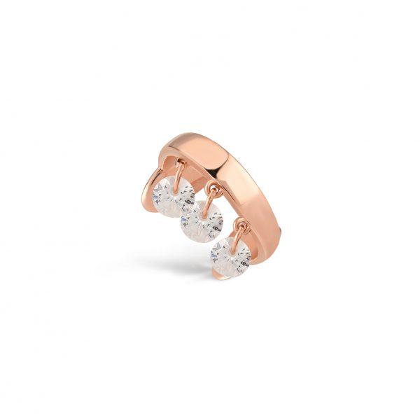 Glint Rose Earring - High Street Jewelry