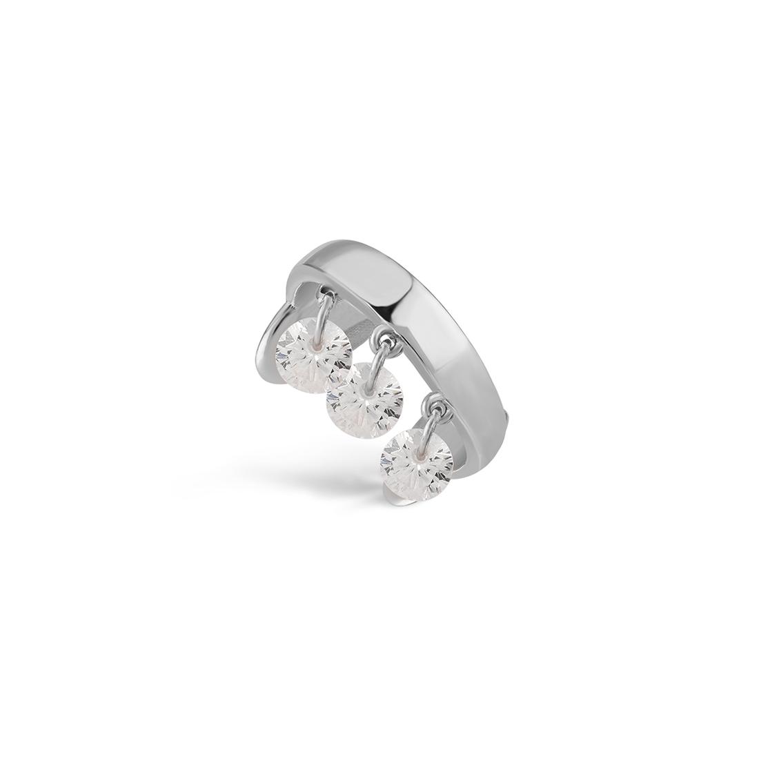 Glint Silver Earring- High Street Jewelry