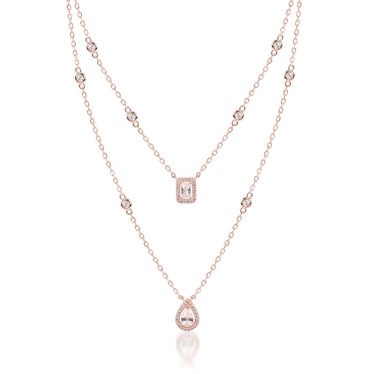 Weald Rose Necklace - High Street Jewelry