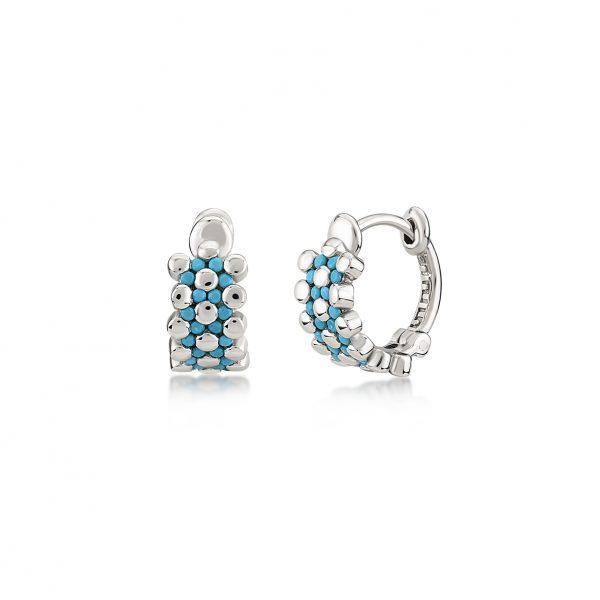 Bubbles Silver Earring - High Street Jewelry