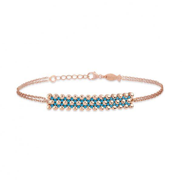 Bubbles Rose Bracelet - High Street Jewelry