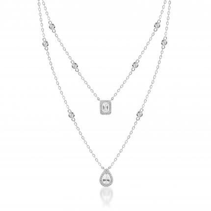 Weald Silver Necklace - High Street Jewelry