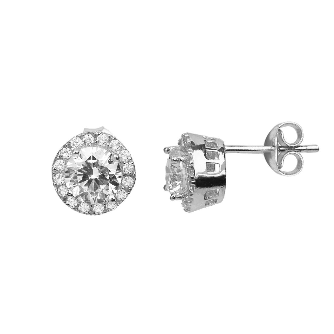 Classic Silver Earring - High Street Jewelry