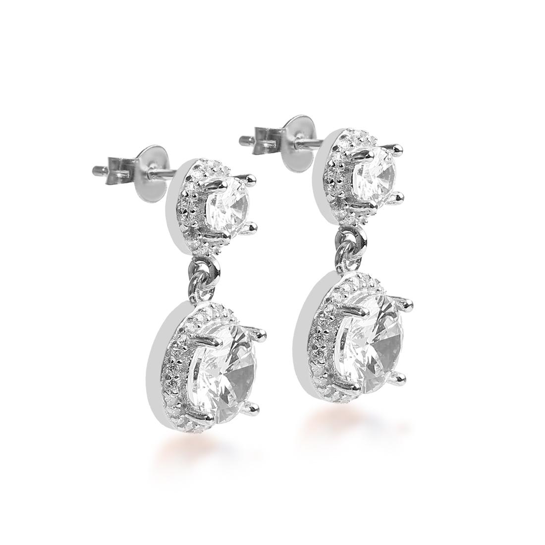 Eden Silver Drop Earring - High Street Jewelry