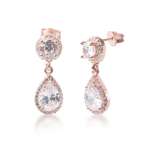 Amara Rose Drop Earring - High Street Jewelry