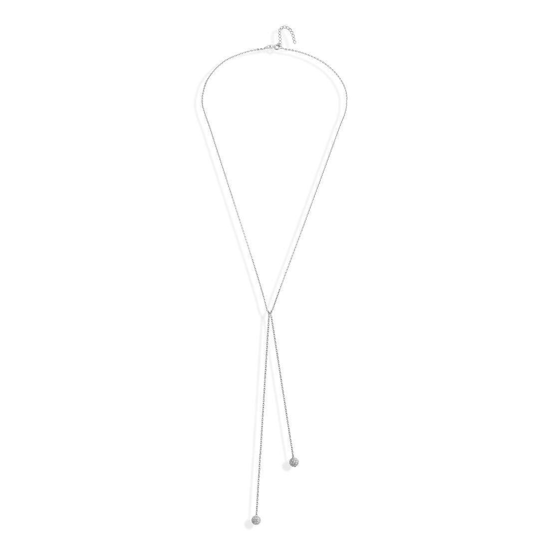 Pendulum Silver Necklace - High Street Jewelry