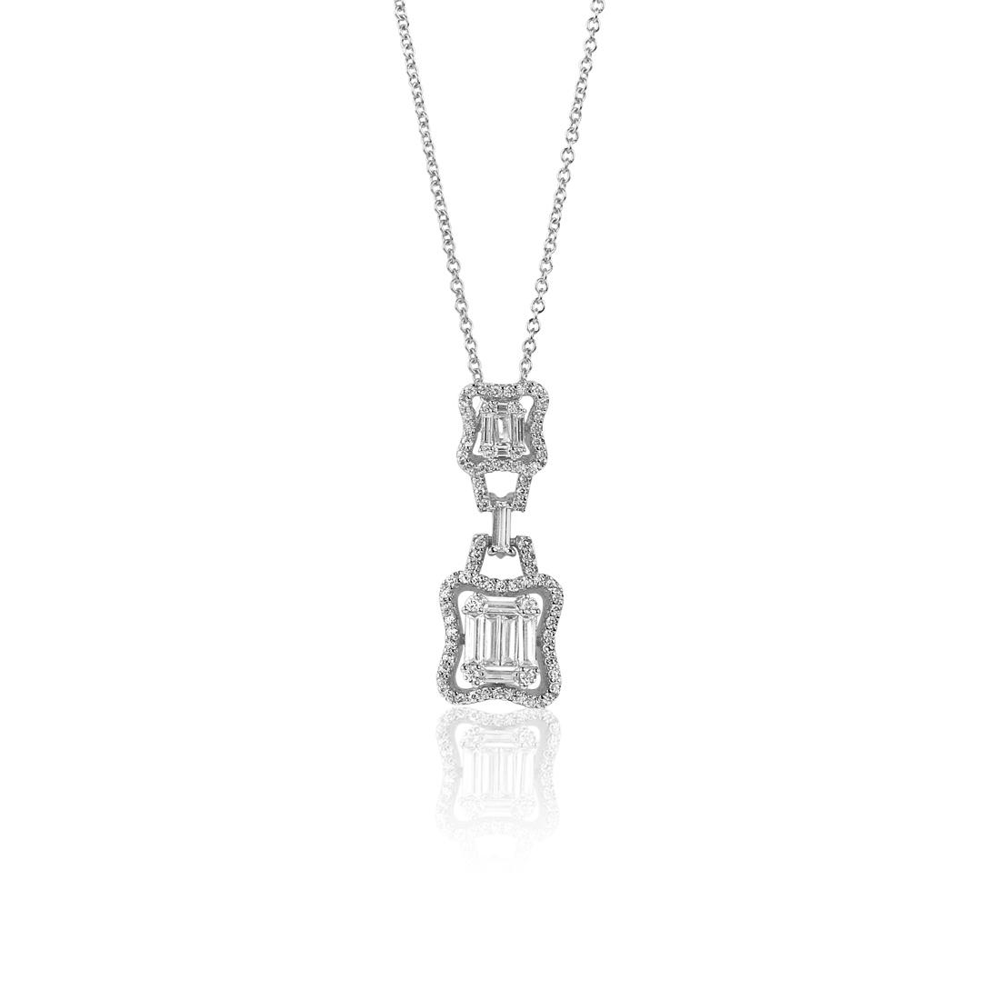 Allegra Silver Necklace - High Street Jewelry