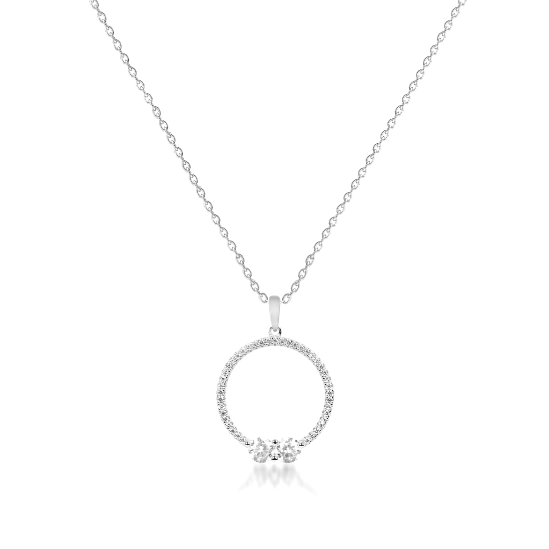 The Present and The Future Khailo Silver Necklace - High Street Jewelry