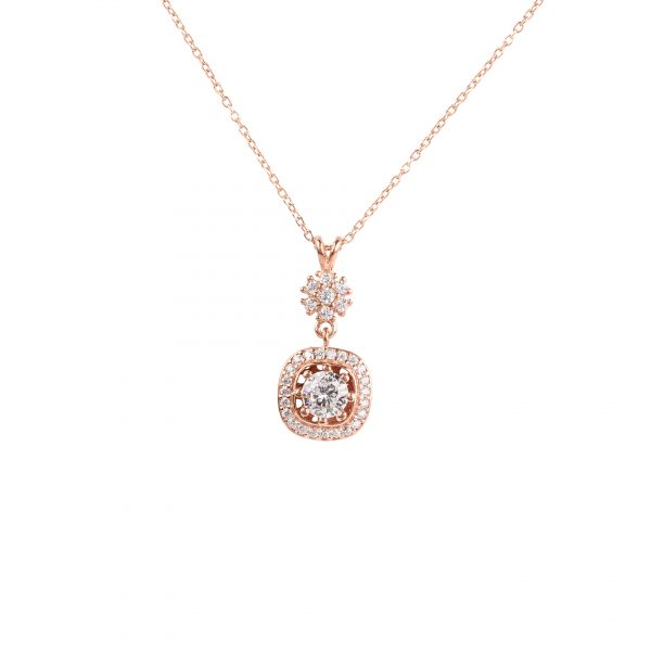Esme Rose Necklace - High Street Jewelry