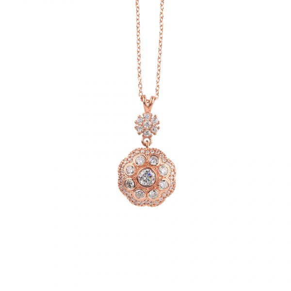 Gracia Rose Necklace - High Street Jewelry