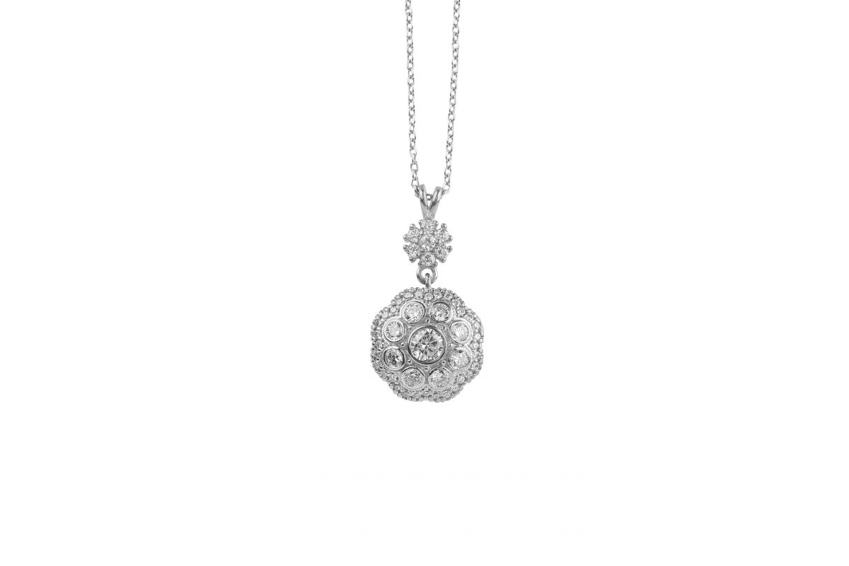 Gracia Silver Necklace - High Street Jewelry