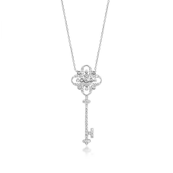 Key of Life Silver Necklace - High Street Jewelry