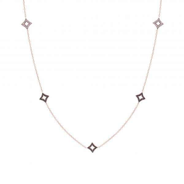 Pinnacle Rose Necklace - High Street Jewelry