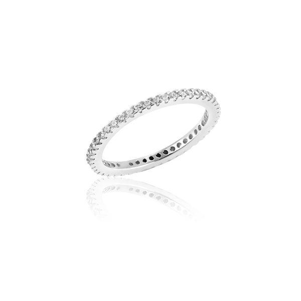 Echo Silver Ring - High Street Jewelry