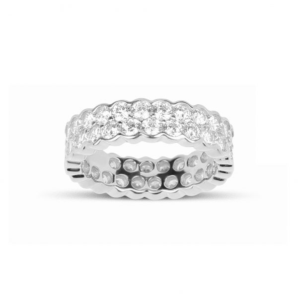 Dahlia Silver Ring - High Street Jewelry